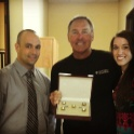 Dwight Clark pays a visit to the Intero Real Estate Services office to discuss leadership and the perfect catch.