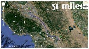 51 miles