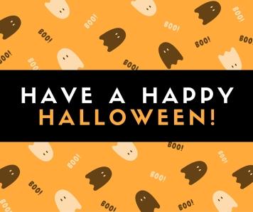 Kristen Jurevich wishes you a Happy Halloween