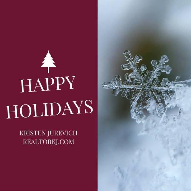 happy holidays, christmas, kristen, jurevich, snowflake, hollister, ca, california, gilroy, salinas, san jose, bay area, buy, sell, now, real estate, list, marketing, intero, intero real estate,